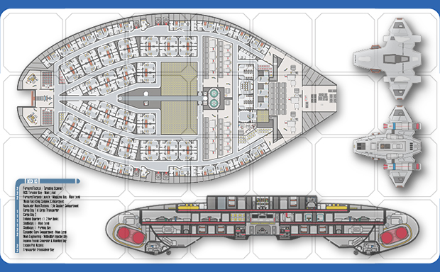 cydonia 6 ink starship blueprints and deck plans